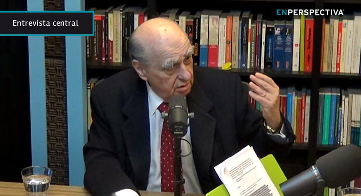 Julio Ma. Sanguinetti: «Gradúo mis apariciones públicas, pero ahora estoy más presente» porque la decisión de Bordaberry de no ser candidato «desconcertó a la gente»