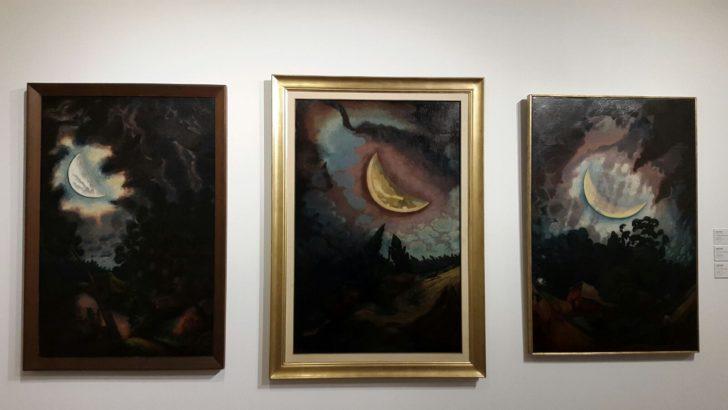 Ranchos y lunas de José Cuneo se exhiben en el Museo Nacional de Artes Visuales