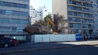 Fue demolida la última casa que quedaba en la rambla de Pocitos