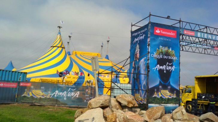 Cirque du Soleil ultima detalles para el estreno de <em>Amaluna</em> en Uruguay