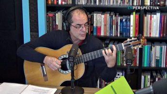 Jorge Fandermole cantó en <em>La Mesa del Tiempo Libre</em>