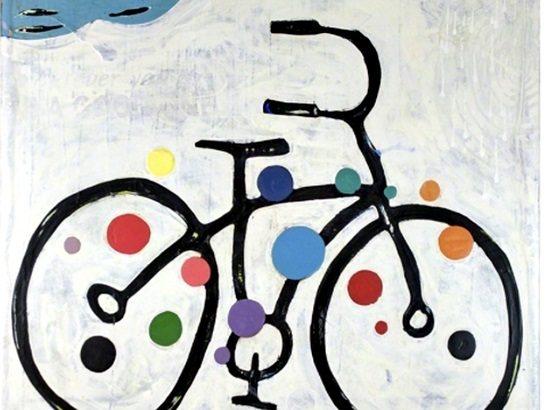 Primera edición de <em><nobr>En Bicicleta</nobr></em>, con Gustavo Izús de Ciclovida