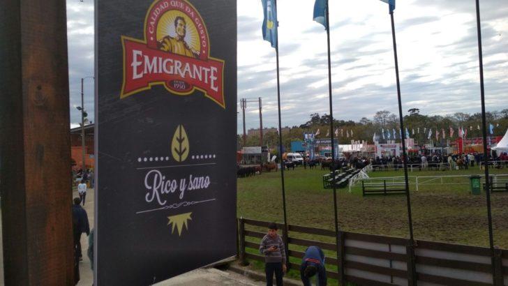 El Emigrante fue premiado en el concurso de stands de la Expo Prado