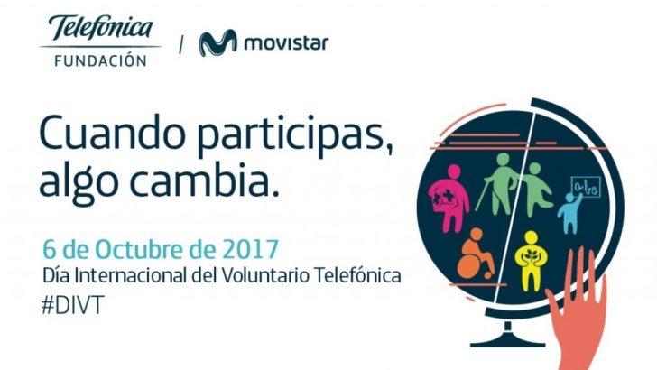 Fundación Telefónica – Movistar celebra el Día del Voluntario Telefónica