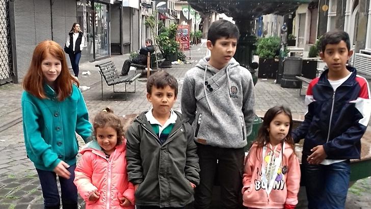 Visita de escolares de Guichón: Postales de un fin de semana en Montevideo