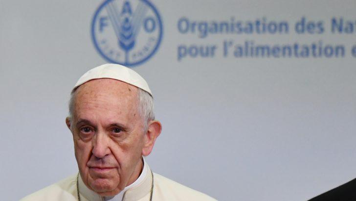 """Día Mundial de la Alimentación: """"Prestemos oído al grito de marginados y excluidos"""", dice papa Francisco"""