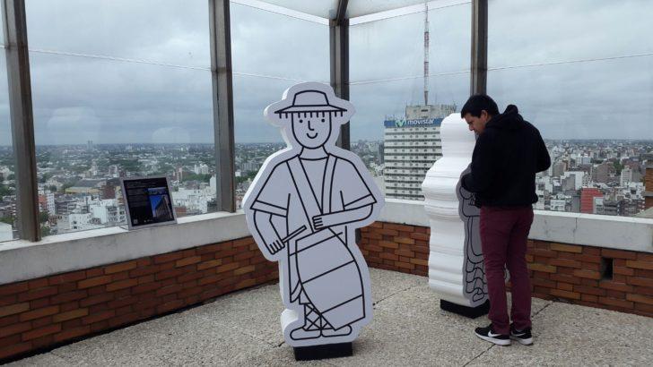 Reinaguran mirador panorámico de la Intendencia de Montevideo