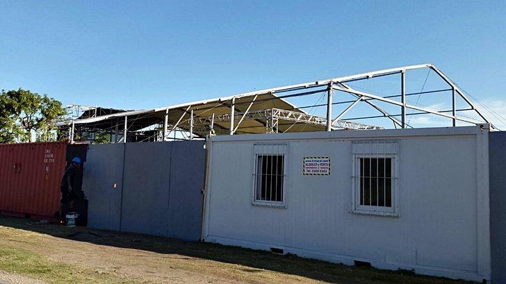 Intendencia autoriza galpón por dos meses en rambla de Punta Carretas