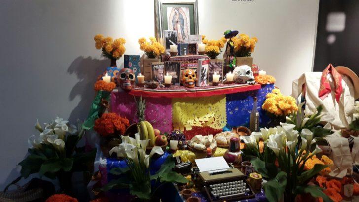 Inauguran altar de los muertos dedicado a Juan Rulfo