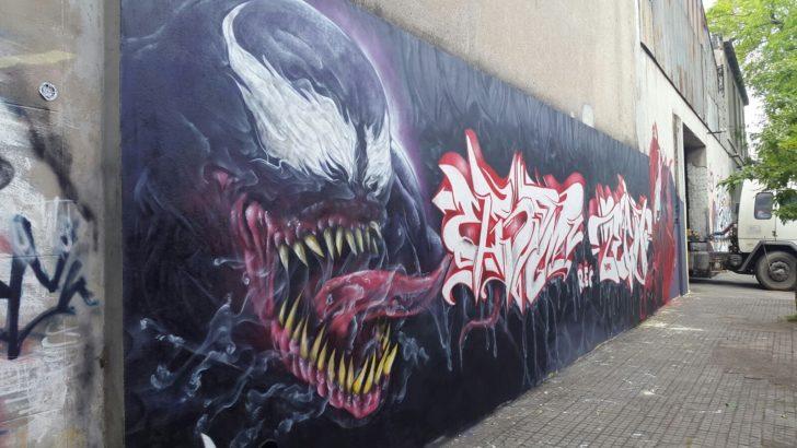 La empresa Hierromat incorporó arte a sus fachadas