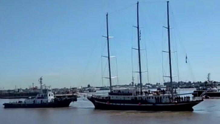 """<em>En Movimiento</em>: Luego de un año de remodelación, el Capitán Miranda hace su """"primer prueba de mar"""""""