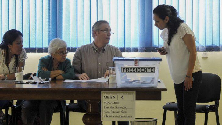 Resultados de la primera vuelta electoral en Chile