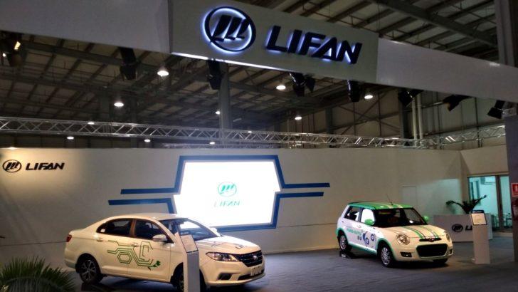 Lifan proyecta importar a Uruguay autos eléctricos con baterías intercambiables