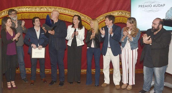 AUDAP distinguió a Alfredo Giuria con el Premio a la Trayectoria Publicitaria por su contribución a la profesión
