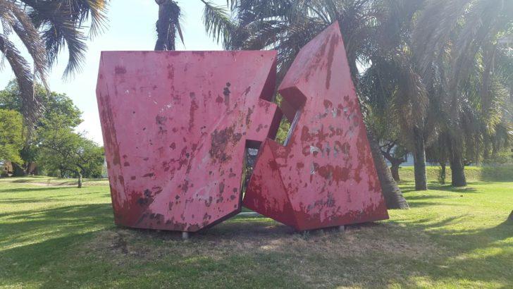 Parque de las Esculturas sigue siendo vandalizado