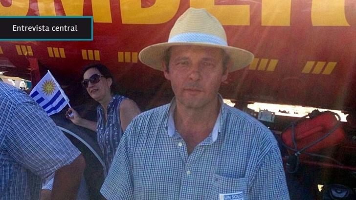 Movilización Autoconvocados: «Esto comienza hoy, el partido se empieza a jugar hoy acá en Durazno», dice Guillermo Francchi, productor y uno de los organizadores