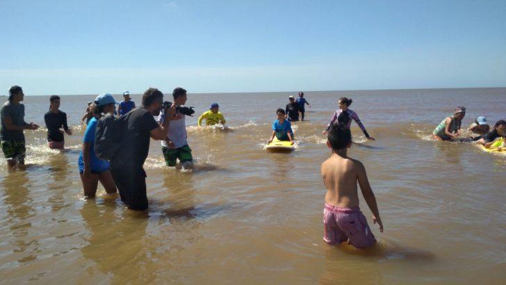 Tercer Festival de Surf Inclusivo en Montevideo