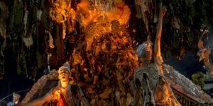 Frankenstein cumple 200 años y fue protagonista del Carnaval de Río