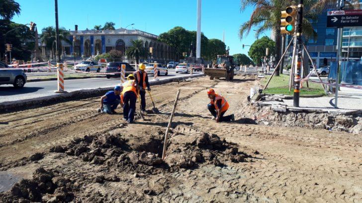 Cambios en el tránsito por obras en la zona de Tres Cruces