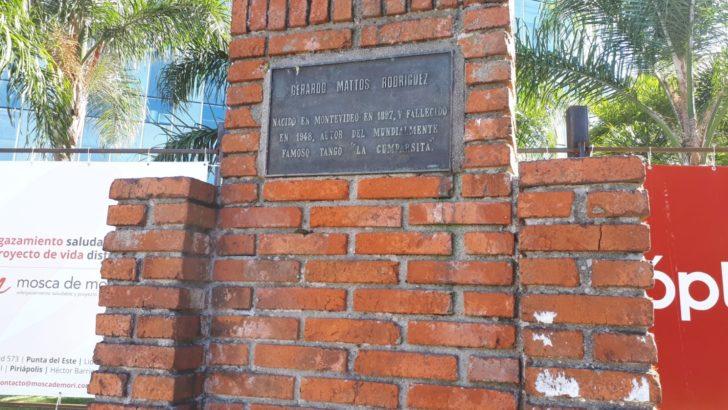 Se instalará escultura en homenaje a <em><nobr>La Cumparsita</nobr></em>