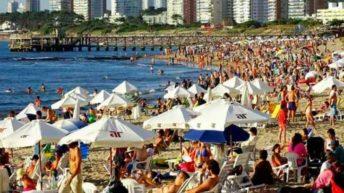 Uruguay recibió en enero 8,5 % más de turistas