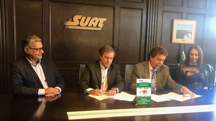 Convenio entre SUAT y Visión Echagüe brinda nuevos beneficios a socios