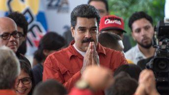 Venezuela: Maduro reelecto presidente en comicios con abstención récord de 54 %