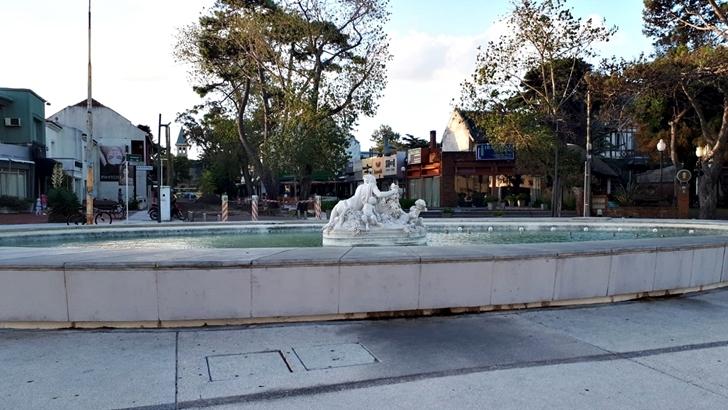 La plaza detrás del Hotel Carrasco será remodelada