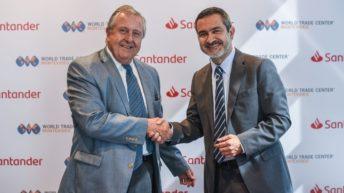 Banco Santander y World Trade Center Montevideo firman alianza