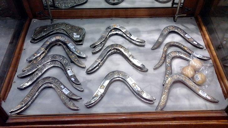 Rematan colección de platería criolla y está en exhibición