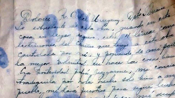 Dolores: Encuentran mensaje de los años 1930 oculto en una botella