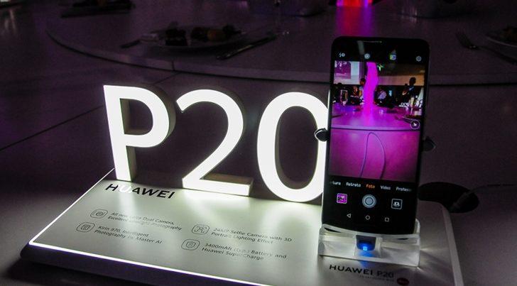 Huawei P20 arribó a Uruguay de la mano de Antel