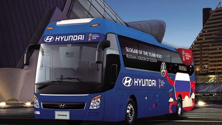 <em>Be There With Hyundai</em>, campaña para la Copa Mundial de FIFA Rusia 2018