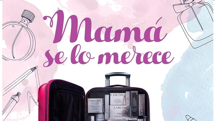 Montevideo Shopping regala Valijas de productos Lancôme