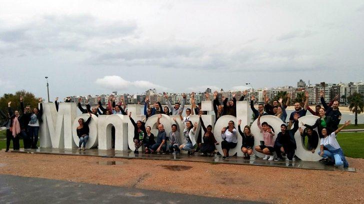 Turistas brasileros visitan Montevideo en el 1º de mayo