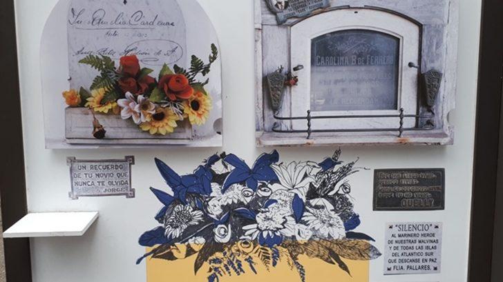 Exposición de arte funerario en el Cementerio del Buceo