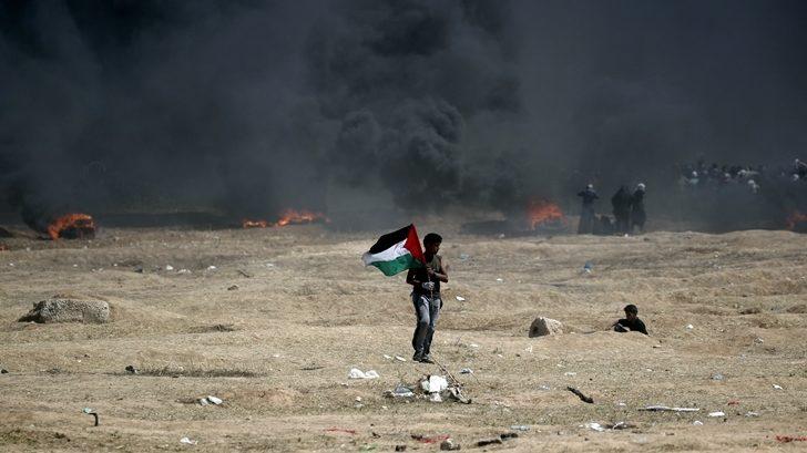 Detrás de las protestas en Gaza hay «una enorme frustración, falta de esperanza de la población, y una coalición de políticos que se desentiende del futuro de esta gente»