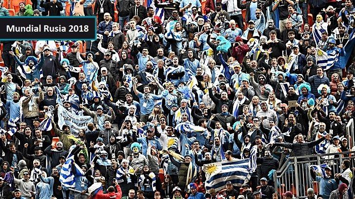 Vimos el partido juntos: Los contactos pre, durante y post Uruguay-Egipto