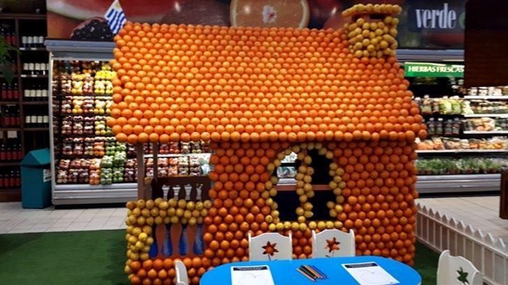<em>Mes del Citrus</em> en supermercado Géant
