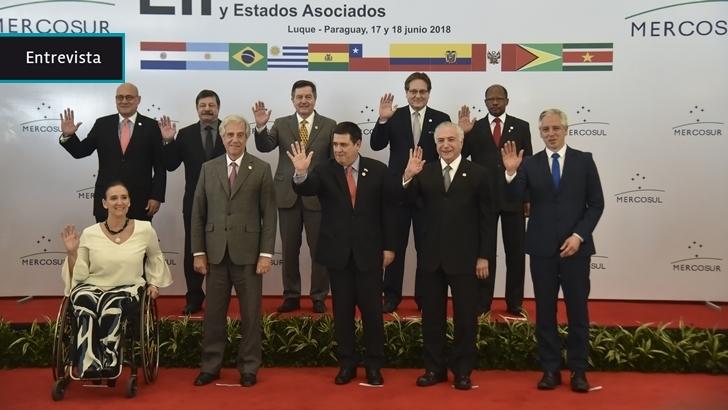 """""""El Mercosur no puede negociar con terceros algo en común, porque son países con intereses de política comercial totalmente diferentes"""""""
