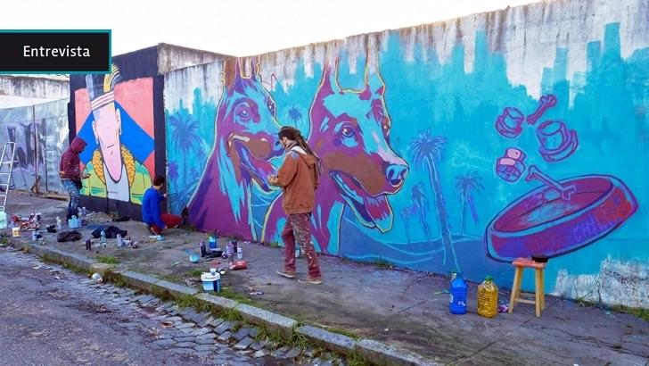 «En este lugar se necesita un poco de vida»: Más de medio centenar de artistas le puso color a Castillos