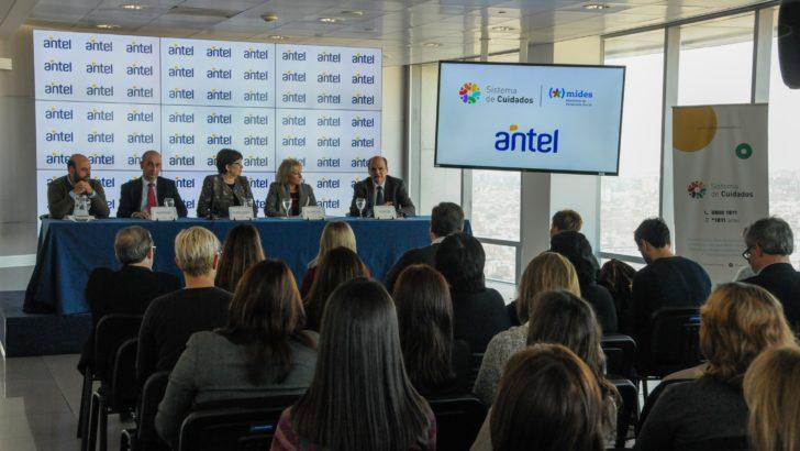 Antel brindará apoyo al Sistema de Cuidados