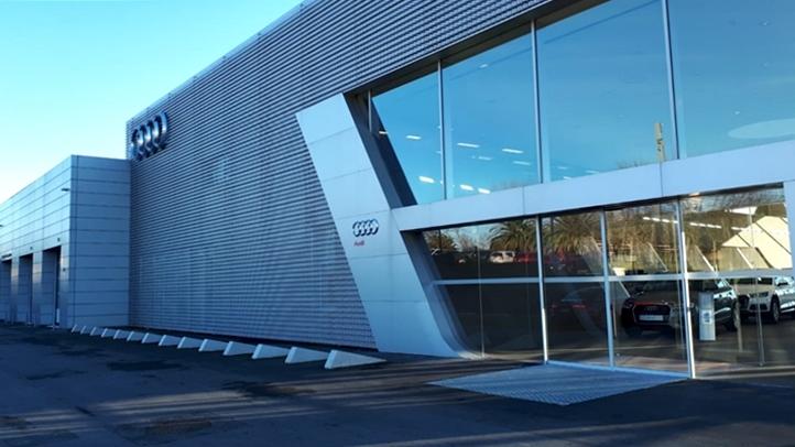 Audi Zentrum Montevideo: Un moderno centro de ventas y servicios de la marca alemana