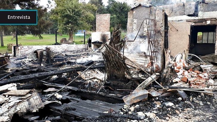 Incendio en Club de Golf del Cerro no es el fin: «Sigue vivo, sigue con muchos proyectos, más que nunca hay energía súper positiva para impactar en el barrio»