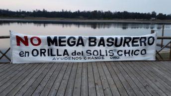 """Asamblea de vecinos por posible instalación de """"megabasurero"""" en la cuenca del Arroyo Solís Chico"""