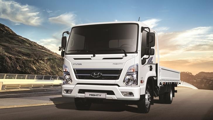 Nueva línea de camiones Mighty de Hyundai EX 6, EX8, EX10