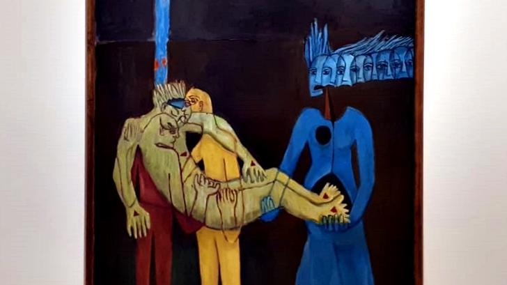 Las quince estaciones: Exposición del Tola Invernizzi en el Museo de Artes Visuales