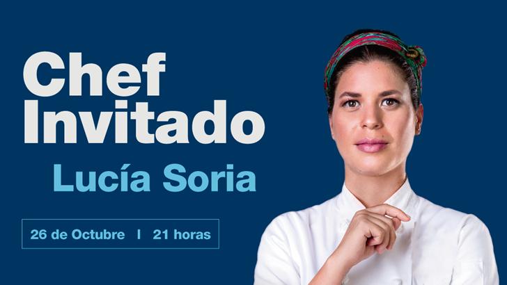 Lucia Soria cocinará en The Grand Hotel