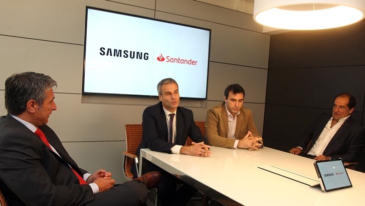 Samsung y Santander firman alianza y suman nuevos beneficios a sus clientes