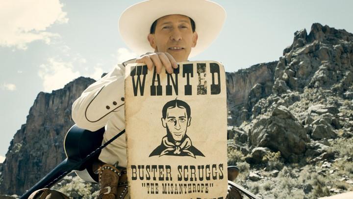 Eduardo Alvariza reseña <em>La balada de Buster Scruggs</em>, de los hermanos Coen